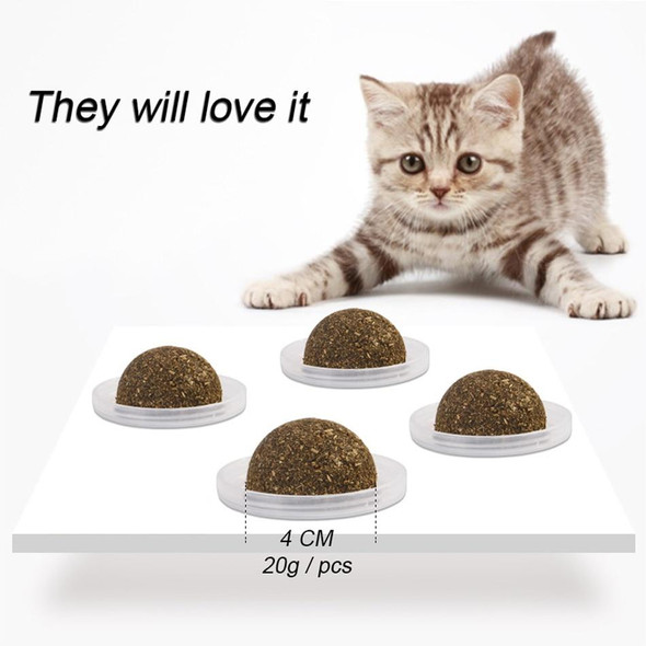 Natural & Healthy Edible Catnip Toy For Cats & Kittens Promotes Teeth Cleaning