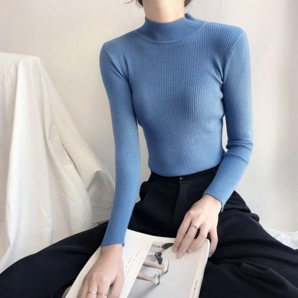 Turtleneck sweater women Solid Knitted winter clothes women plus size girls sweaters Long sleeve Pullovers