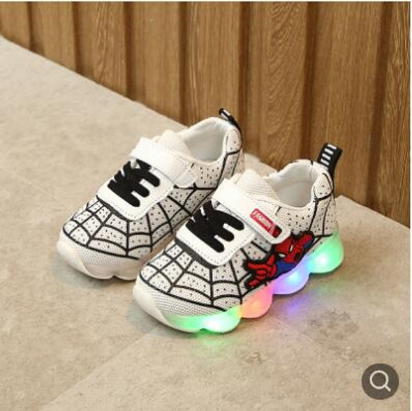 Spiderman Children Shoes With Light