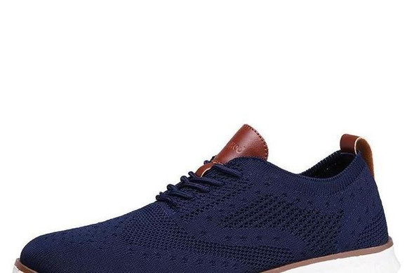 Knitted Mesh Men's Shoes