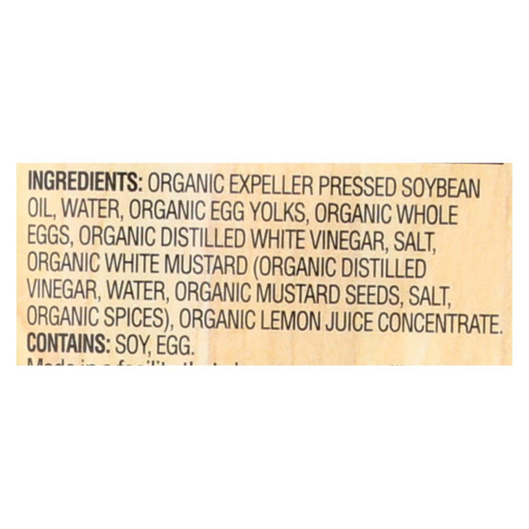 Woodstock Organic Mayonnaise - Squeeze - Case Of 12 - 11.25 Oz.