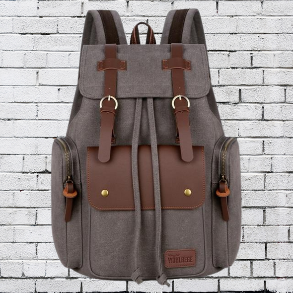 High Quality Canvas Travel Backpack