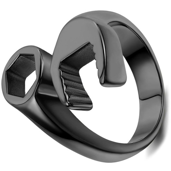 Mechanic Wrench Stainless Steel Rings