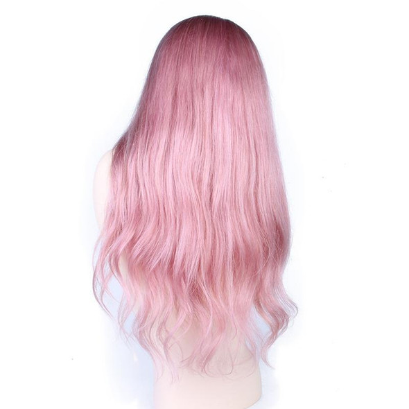 Dusty (Pink Body Wave 13x3 LF 100% Remy HH Wig, Diff Lengths Densities Avail.)