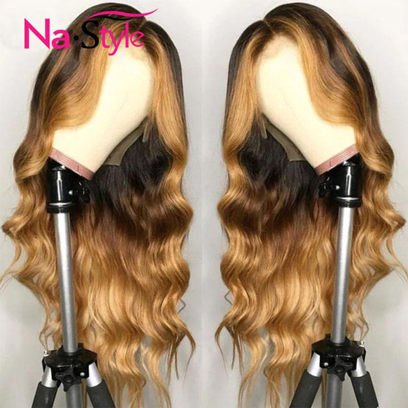 Ombre 13x4 Lace Front Human Hair Wigs