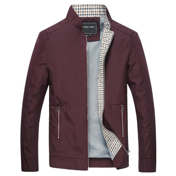 Men's Spring Stand Collar Bomber Jackets
