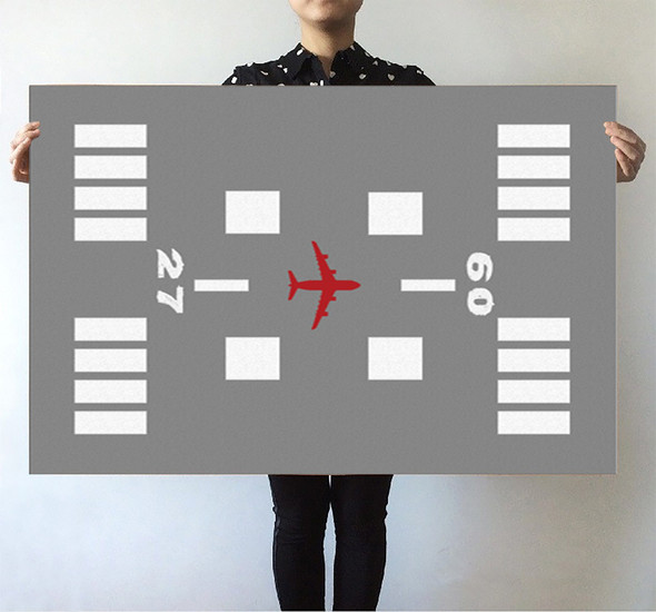 Special Runway (Gray) Designed Posters