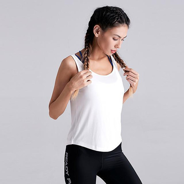 Women's Yoga Built In Bra Tank Strappy Solid Color White Black Pink Grey Nylon Yoga Running Fitness Top Sport Activewear Breathable Quick Dry Comfortable 4 Way Stretch Moisture Wicking Stretchy