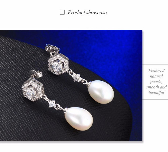 925 sterling silver & Natural freshwater pearl, naturals as you...you're lovin' it. BUY IT NOW!