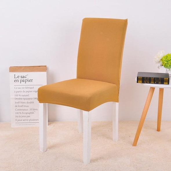 Plain colors kitchen chair seat covers | chair protector