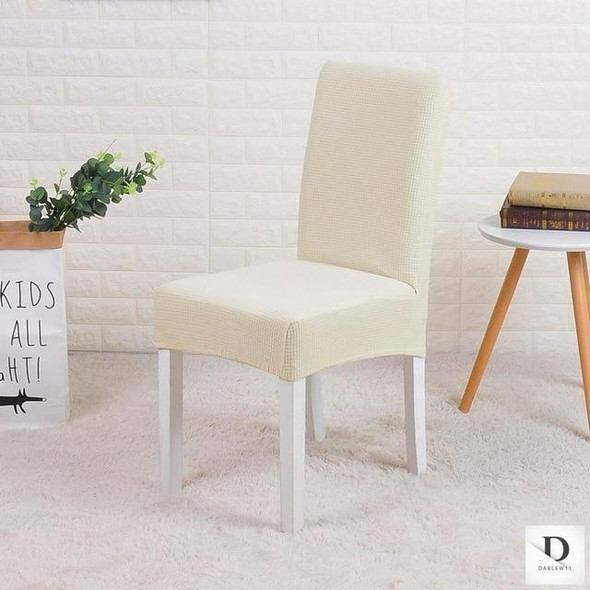 Jacquard spandex waterproof dining chair covers protector