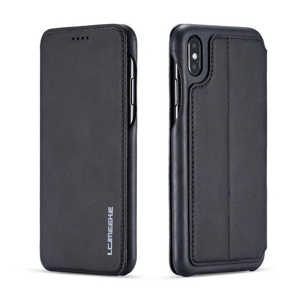 Business Retro Leather Case for iPhone
