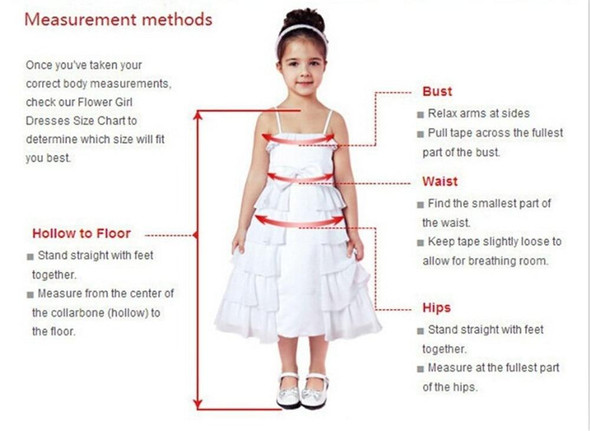 Lace Flower Girl Dresses Kids Wedding Party