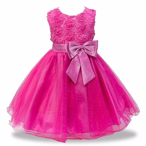 Baby Embroidered Formal Princess Dress for Girl