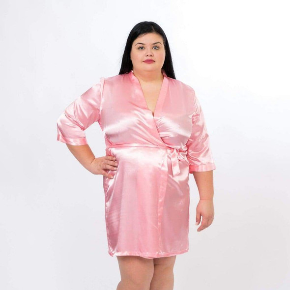 Satin Customized Bride and Bridesmaid Robes for Wedding Party