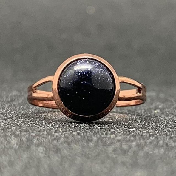 Natural Stone Open Ring