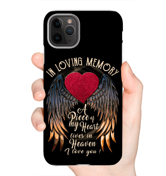 In Memory, I Miss You, Customize Nam And Date Phone Case