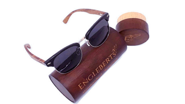 Handcrafted Wooden Sunglasses Protective Case - Jewelry Case - Store