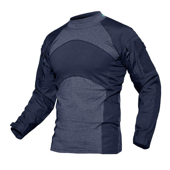 Mens T-shirts Long Sleeve Cotton Camouflage Tactical T Shirts Military