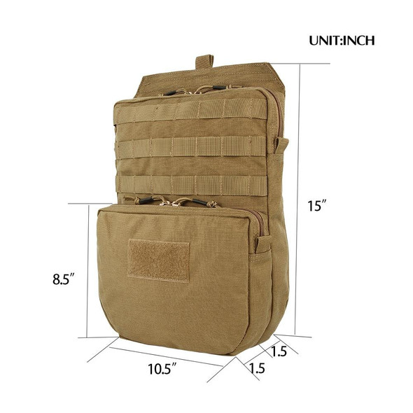 Tactical Molle Hydration Bag for 3L Hydration Water Bladder Molle Vest