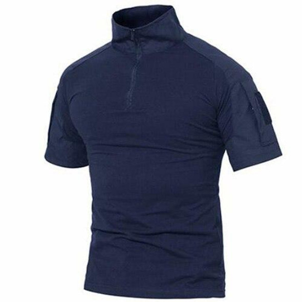 T-shirts Men Summer Cotton Tactical Tops Tees Military Style Army