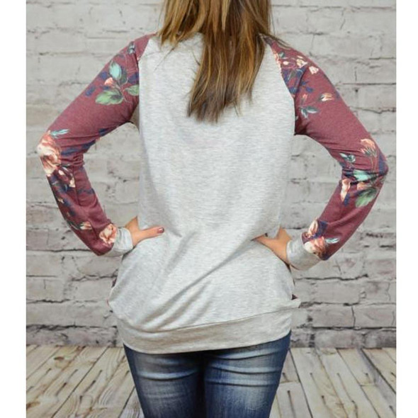 Floral Printing Casual Blouse