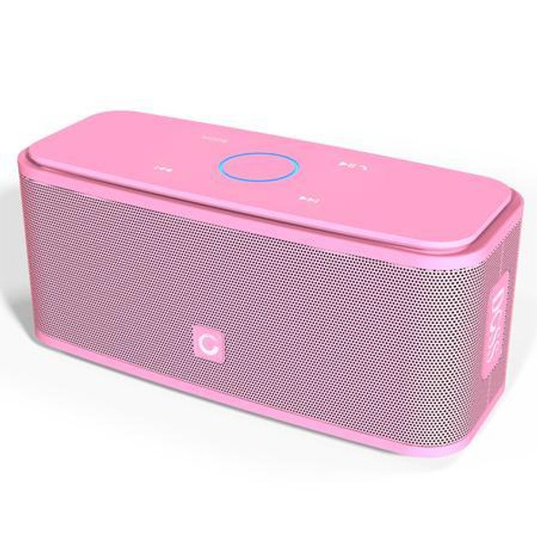 DOSS SoundBox Touch Control Bluetooth Speaker 2*6W Portable Wireless Speakers Stereo with Bass and Built-in Mic
