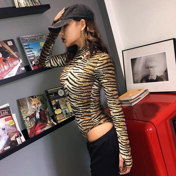leopard print sexy bodycon party outfits bodysuit