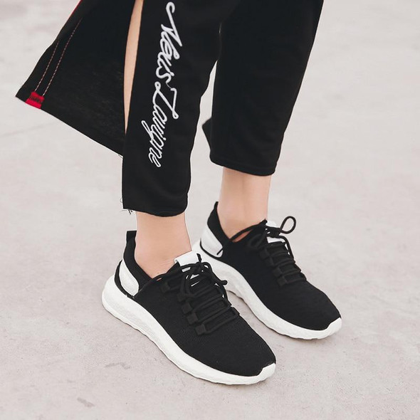 Lightweight Sneakers Summer Knit Breathable Trainers Soft