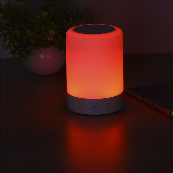 Portable LED Touch Lamp With Bluetooth Speaker