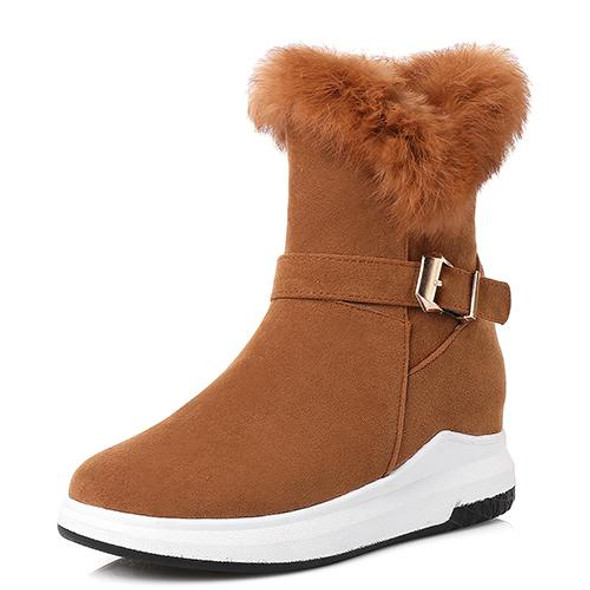 Ankle Flat Heel Winter  Boots for women