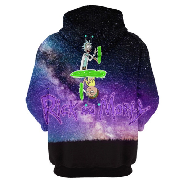 Rick and Morty Pullover Hoodie CSOS864