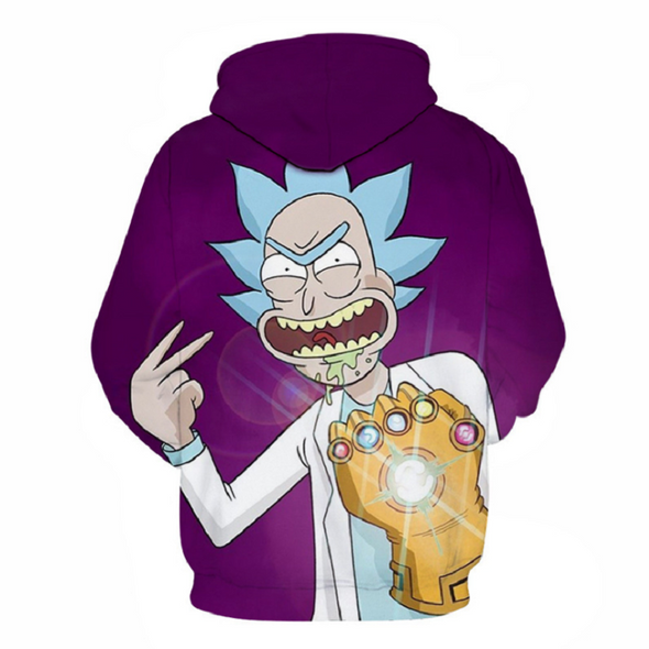 Rick and Morty Pullover Hoodie CSOS865