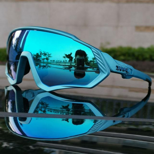 2019 Outdoor Sports Cycling Goggles Men Polarized Cycling Glasses Mountain Bike Cycling Eyewear Bicycle Sunglasses UV400 3 Lens