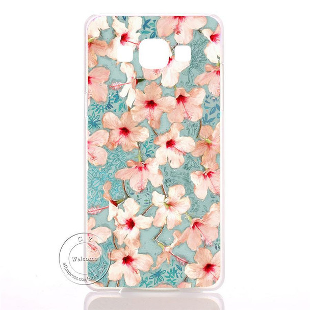 Mandala Flower Datura Floral Clear Hard Plastic Case Cover For Samsung Galaxy S3 S4 S5 Mini S6 S7 Edge Note 2 3 4 5 7
