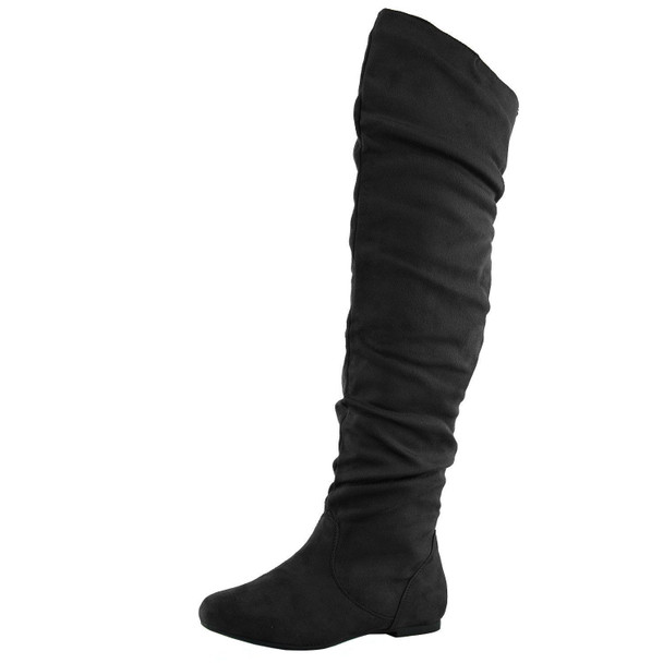 Vickie Hi Comfy Slouchy Thigh High Boots