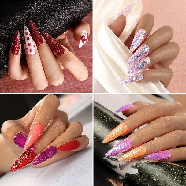 Acrylic Nail Set All For Manicure Acrylic Powder Liquid Glitter For Nails Supplies For Professionals Manicure Set Tools
