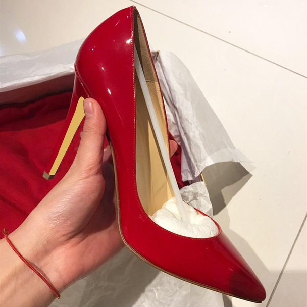 Women Pumps Nude Pointed Toe High Heel Shoes Stiletto Ladies