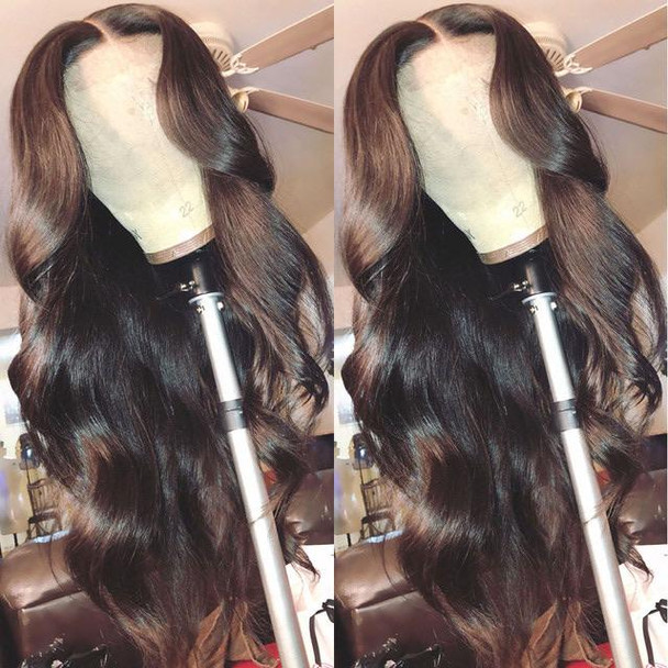 Long Body Wave Lace Front Human Hair Wig