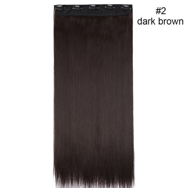 46-76 CM Longest Clip in One Piece Hair Extensions