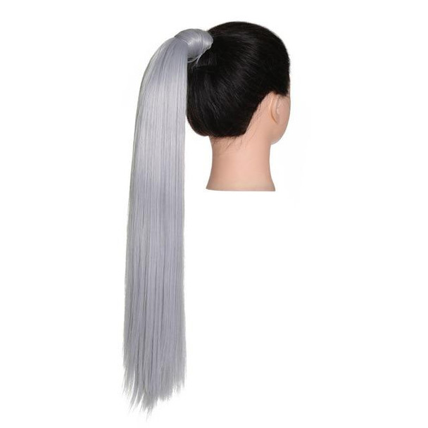 Straight Long Natural Hair Ponytail Extensions