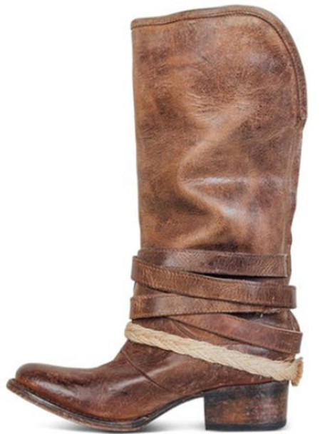New over-knee pointed flat high-top boots