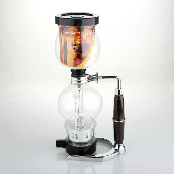 QT-3 Syphon Coffee Maker Coffee Tea Siphon Maker 3 Cup Counted Espresso coffee Maker