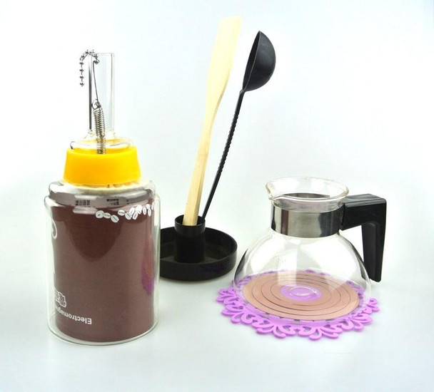 1PC Eco Coffee Muti-Function Electromagnetic Syphon Kettle 2Cups Counted
