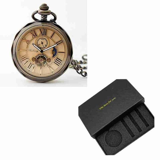 Vintage Open Face Roman Numbers Pocket Watch