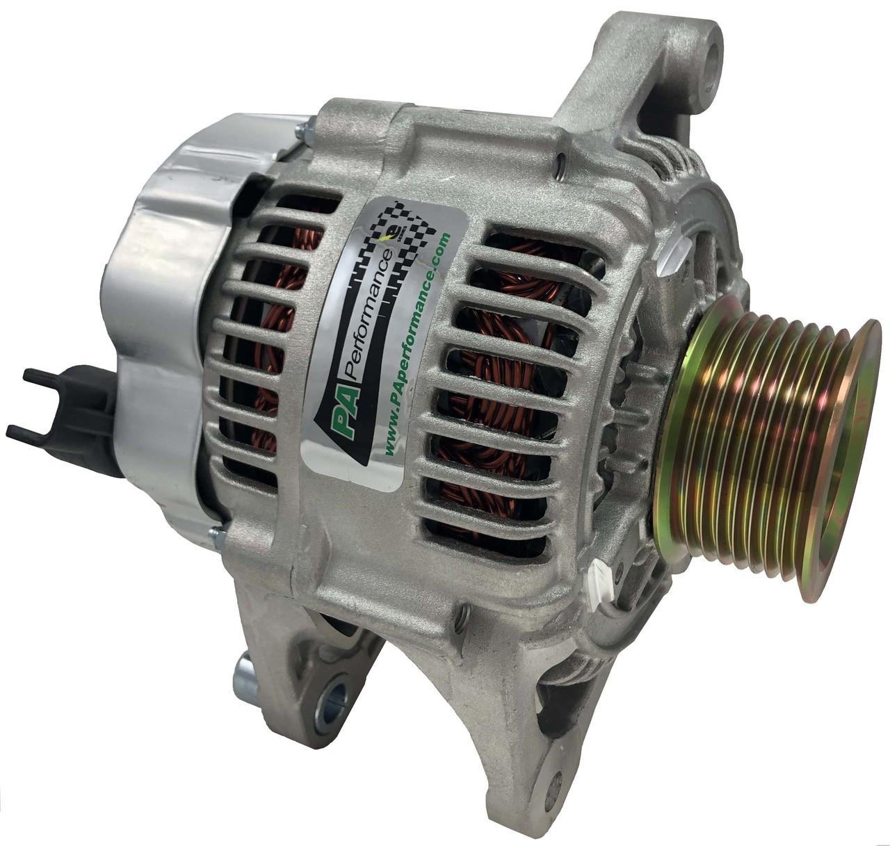 136a denso alternator 5 9 cummins 1 wire89 Dodge W250 Wiring Alternator And Regulator #13