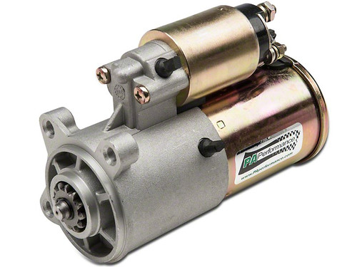 Permanent Magnet Gear Reductions Starter