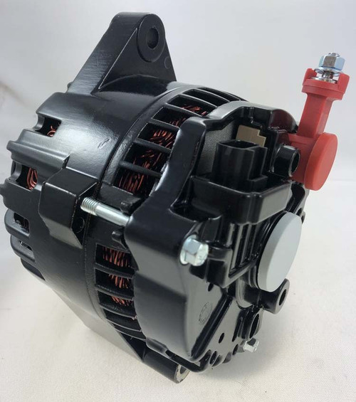 130A 6G Alternator Gloss Black (2503BBINGLBLK)