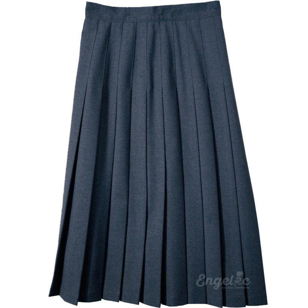 Juniors School Uniform Pleated Skirt English Style Poly