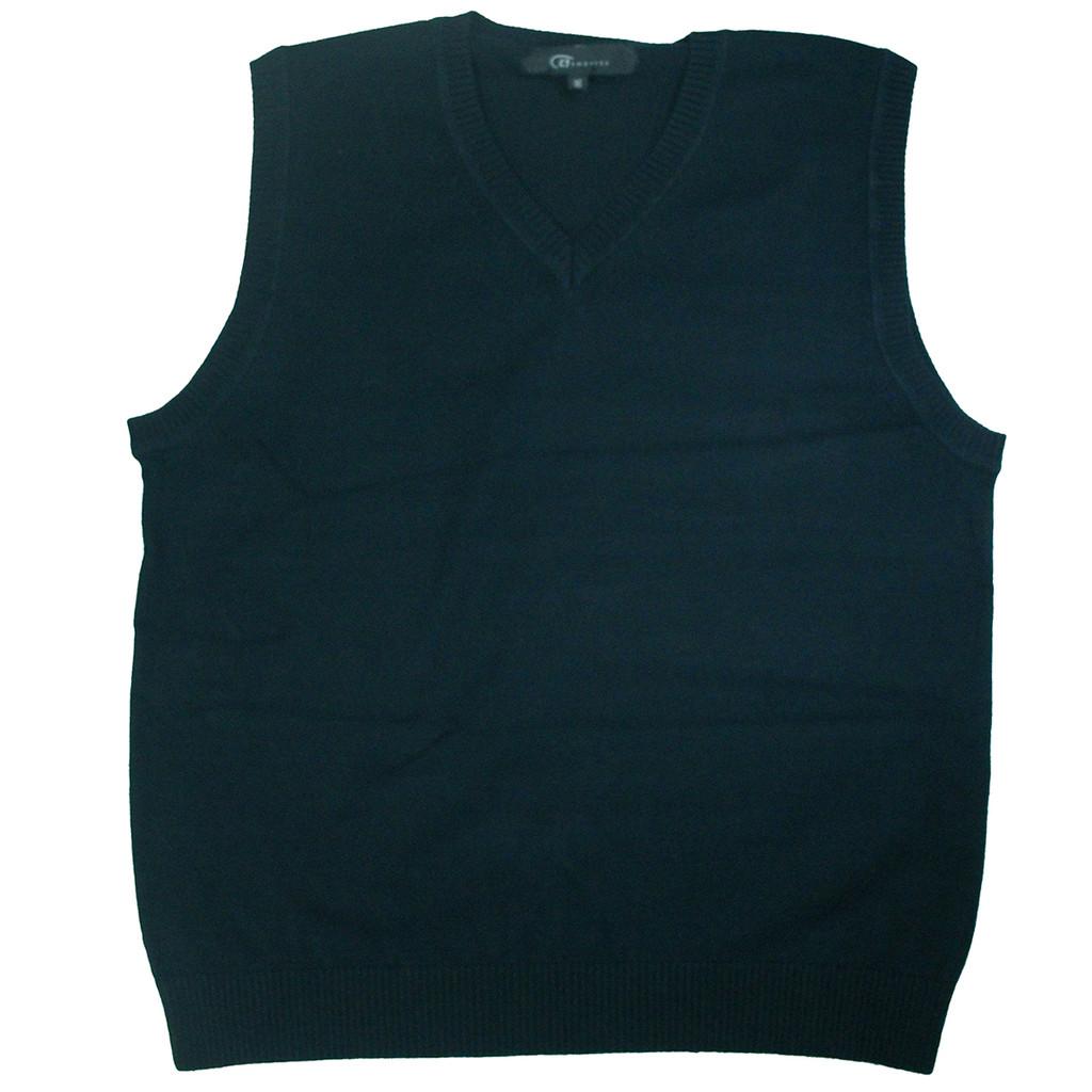 Sleeveless Sweater Vest - 100% Cotton